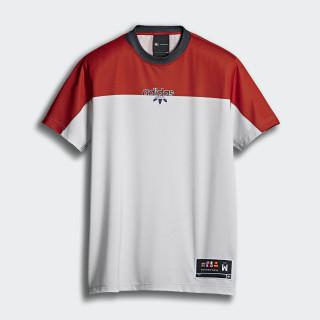 T-shirt adidas Originals by AW St Brick / Clear Grey DT9483