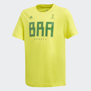 Brazil Tee Bright Yellow CW2071