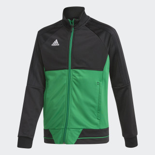 Tiro 17 Training Jacket Black/Green/White BQ2613
