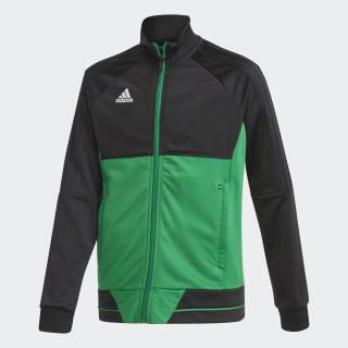 Tiro 17 Trainingsjacke Black/Green/White BQ2613