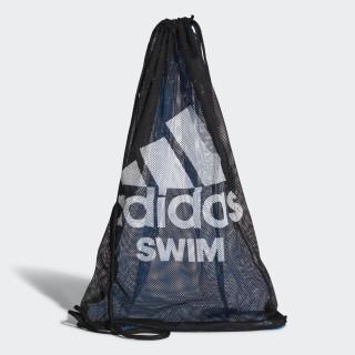 Borsa Swim Mesh Black/Shock Blue/White CV4014