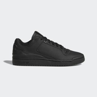 Forum Low Decon Shoes Core Black / Core Black / Blue B37874