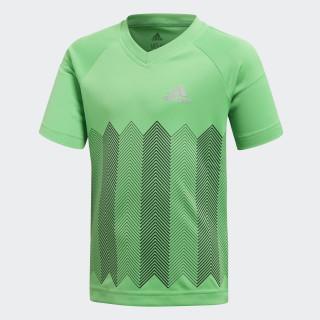 Football T-shirt Vivid Green / Reflective Silver DJ1476