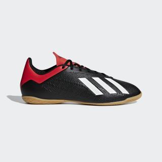 Calzado de Fútbol X 18 4 IN core black/off white/active red BB9405