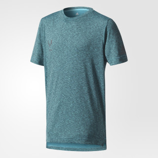 Messi T-Shirt Turquoise/Energy Blue CD4214