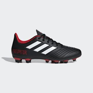 Zapatos de Fútbol Predator 18.4 Terreno Flexible CORE BLACK/FTWR WHITE/RED DB2007