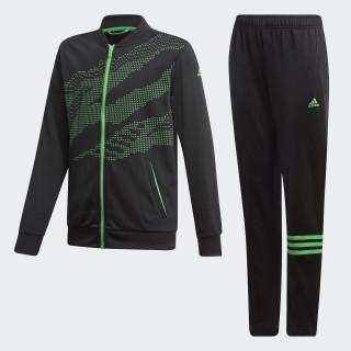 Trainingsanzug Black / Vivid Green DI0186