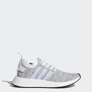 NMD_R2 Primeknit Schuh Grey/Footwear White/Core Black BY9410