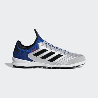 Copa Tango 18.1 Turf Shoes Silver Metallic / Core Black / Football Blue DB2202