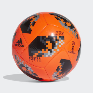 Balón Glider Eliminatorias Copa Mundial de la FIFA SOLAR RED/BLACK CW4685