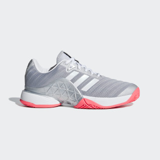 Barricade 2018 Shoes Matte Silver / Cloud White / Flash Red AH2097