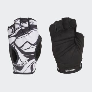 Luvas Climalite WHITE/BLACK CY6247