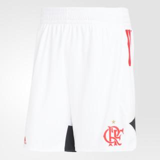 Bermuda Flamengo Swingman Away WHITE/COLLEGIATE RED CW3270