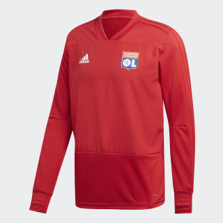 Olympique Lyonnais Training Shirt Power Red / Black / White CJ8310