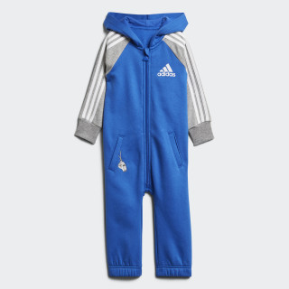 Onesie Blue / Medium Grey Heather / White DJ1561