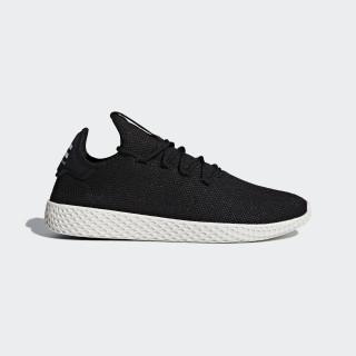 Obuv Pharrell Williams Tennis Hu Core Black / Core Black / Chalk White AQ1056
