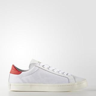 Chaussure Court Vantage Footwear White/Footwear White/Red BZ0428