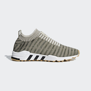 EQT Support Sock Primeknit Shoes Steel / Clear Brown / Gum B37533