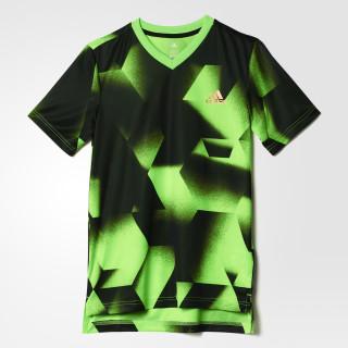 Playera Urban Football SOLAR GREEN/BLACK/COPPER MET. BJ8438