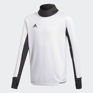 Tiro17 Trainingsshirt White/Black BQ2757