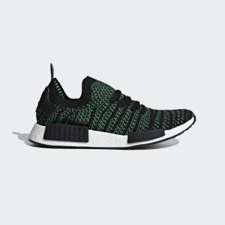 NMD_R1 STLT Primeknit Shoes Noble Green / Core Black / Bold Green AQ0936