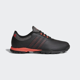 adipure Sport Shoes Core Black / Real Coral / Core Black DA9136