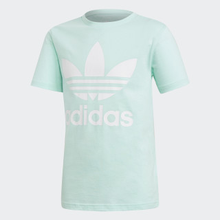 Camiseta Trefoil Clear Mint / White DH2473