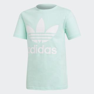 T-shirt Trefoil Clear Mint / White DH2473