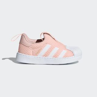 Superstar 360 Shoes ftwr white / ftwr white / shock pink B37253