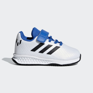 Zapatillas RapidaTurf Messi EL I FTWR WHITE/CORE BLACK/BLUE AH2432