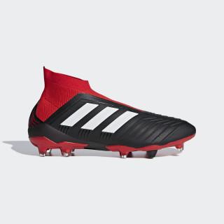 Botas de Futebol Predator 18+ - Piso Firme Core Black / Ftwr White / Red DB2012