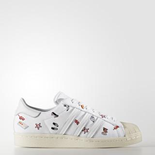 Superstar 80s Shoes Footwear White/Footwear White/Off White BZ0650