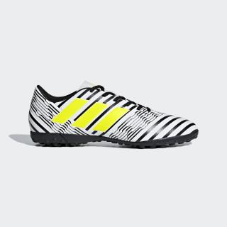 Chaussure Nemeziz 17.4 Turf Ftwr White / Solar Yellow / Core Black S82476