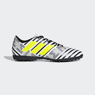 Nemeziz 17.4 TF Fußballschuh Ftwr White / Solar Yellow / Core Black S82476
