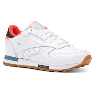Classic Leather Altered Wht / Blk / Red / Mist DV5238