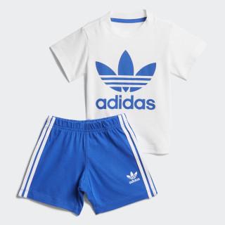 Conjunto Shorts y Camiseta WHITE/BLUE BLUE/WHITE CE1995