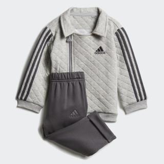 Jogger Trainingsanzug Medium Grey Heather / Black / White DJ1556