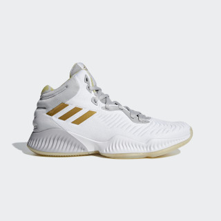 Mad Bounce 2018 Skor Ftwr White / Gold Met. / Grey Two B41871