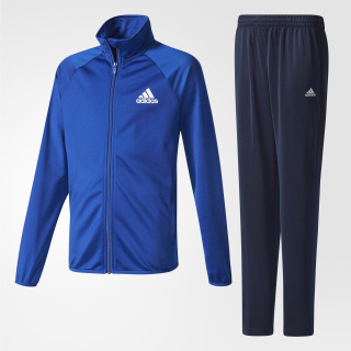 Boys Tracksuit Entry Open Hem Collegiate Royal / White CE8591