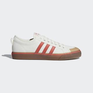 Nizza Shoes Off White / Core Red / Gum CQ2326