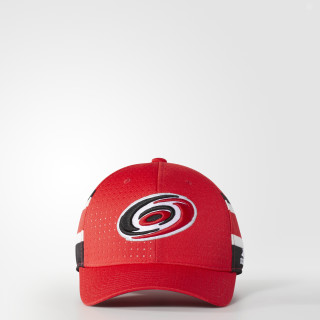 Hurricanes Structured Flex Draft Hat Red BZ8725