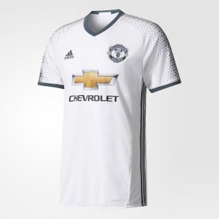 de la tercera camiseta del Manchester United FC. WHITE/BOLD ONIX AI6690