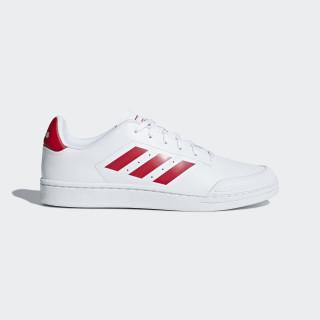 Court 70s Shoes Ftwr White / Scarlet / Ftwr White B79773