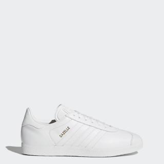 Gazelle Shoes Cloud White / Cloud White / Gold Metallic BB5498