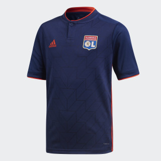 Olympique Lyon Auswärtstrikot Dark Blue / Hi-Res Red CF9150
