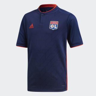 Olympique Lyonnais Uitshirt Dark Blue / Hi-Res Red CF9150