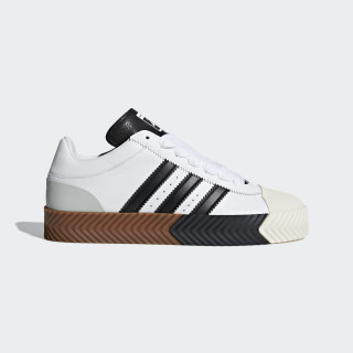 adidas Originals by AW Skate Super Shoes White / Core Black / Tech Silver F35295