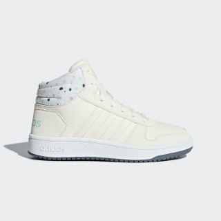 Zapatillas Hoops 2.0 Mid CLOUD WHITE/CLOUD WHITE/CLEAR MINT B75751
