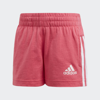 Little Girls Knitted shorts Super Pink / White CE9828
