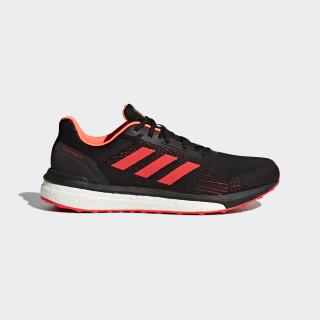 Response ST Shoes Core Black / Hi-Res Red / Solar Orange CG4000